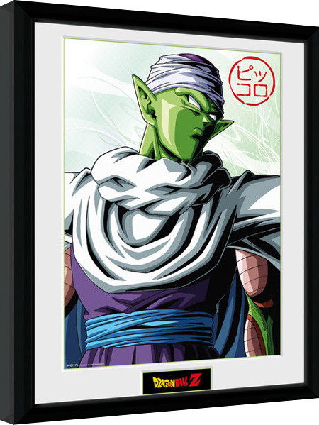 Framed poster Dragon Ball Z - Piccolo