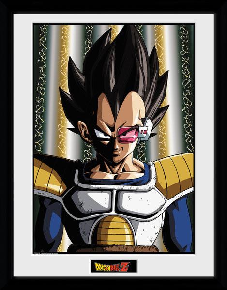 Dragon Ball Z - Vegeta Framed poster
