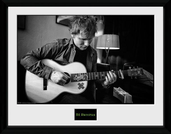 Ed Sheeran - Chord Framed poster