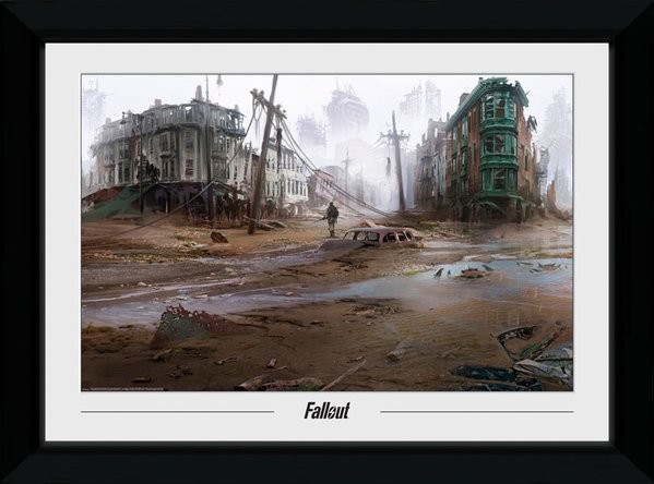 Framed poster Fallout - North End