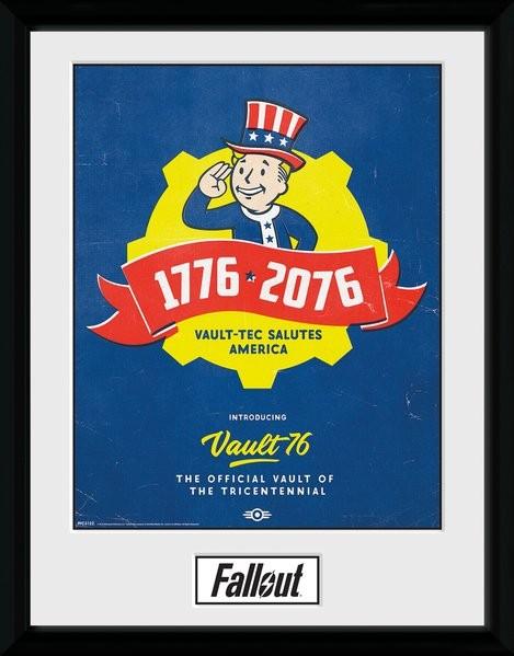 Fallout - Tricentennial Framed poster