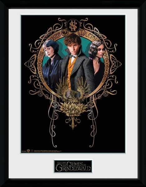 Fantastic Beasts 2 - Trio Framed poster