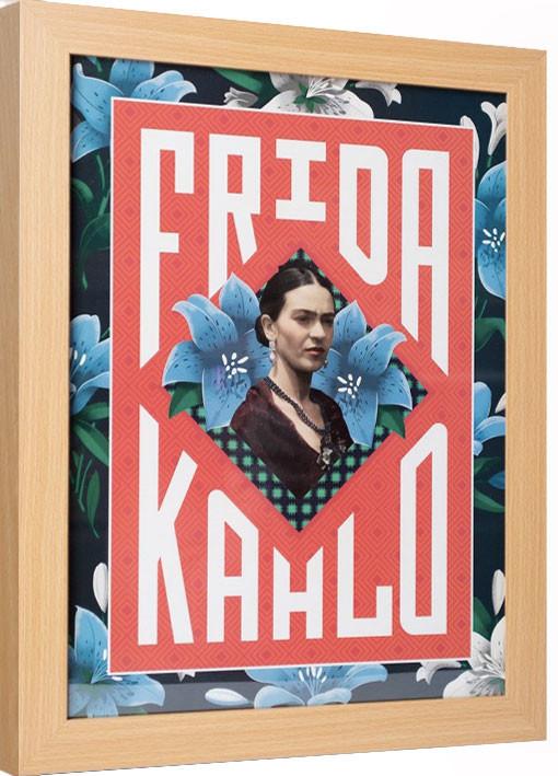 Framed poster Frida Kahlo