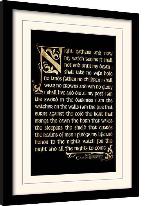 Game of Thrones - Season 3 Framed poster