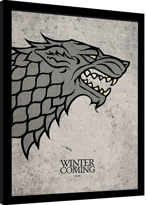 Game of Thrones - Stark Framed poster