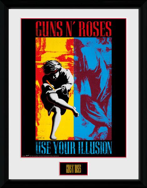 Guns N Roses - Illusion Framed poster