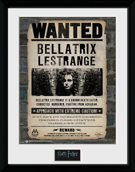 Framed poster Harry Potter - Bellatrix