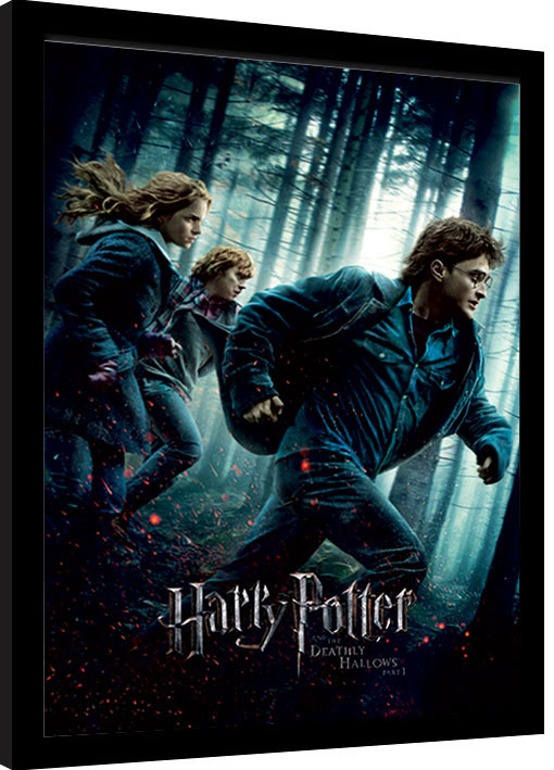 Harry Potter Deathly Hallows Part 1 Framed Poster Buy At Ukposters