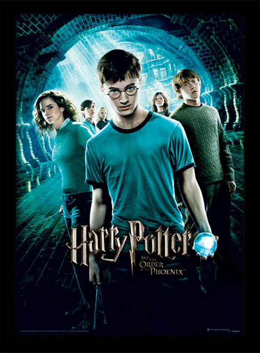 Harry Potter - Order Of The Phoenix Framed poster   Buy at UKposters