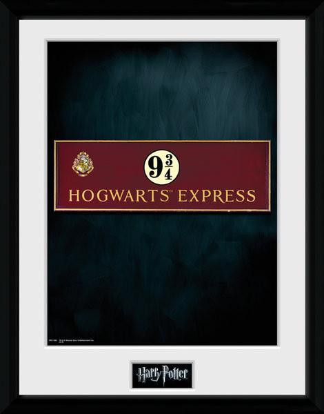 Harry Potter - Platform 9 3/4 Framed poster