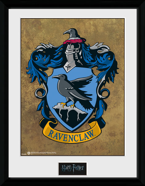 Framed poster Harry Potter - Ravenclaw