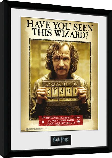 Framed poster Harry Potter - Sirius Azkaban