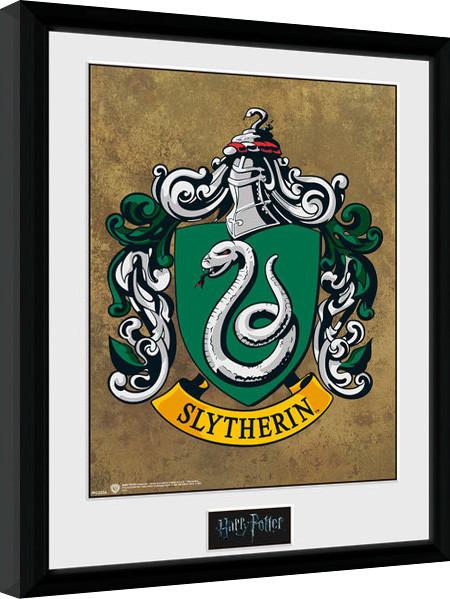 Harry Potter - Slytherin Framed poster