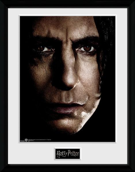 Framed poster Harry Potter - Snape Face