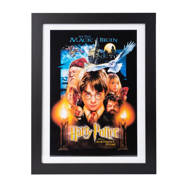 Framed poster Harry Potter - The Sorcerer's Stone