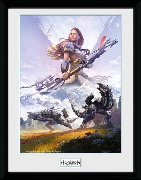 Framed poster Horizon Zero Dawn - Complete Edition