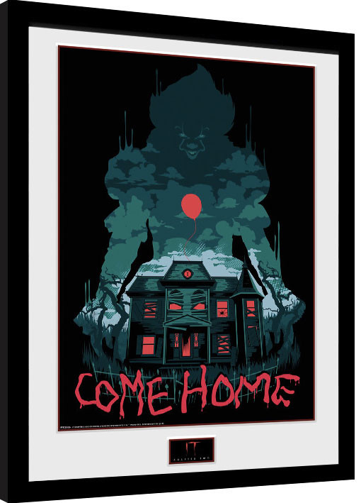 Framed poster IT: Chapter 2 - Come Home