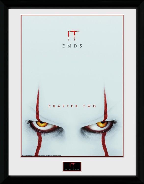 Framed poster It: Chapter 2 - Eyes