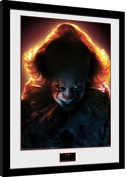Framed poster IT: Chapter 2 - Pennywise