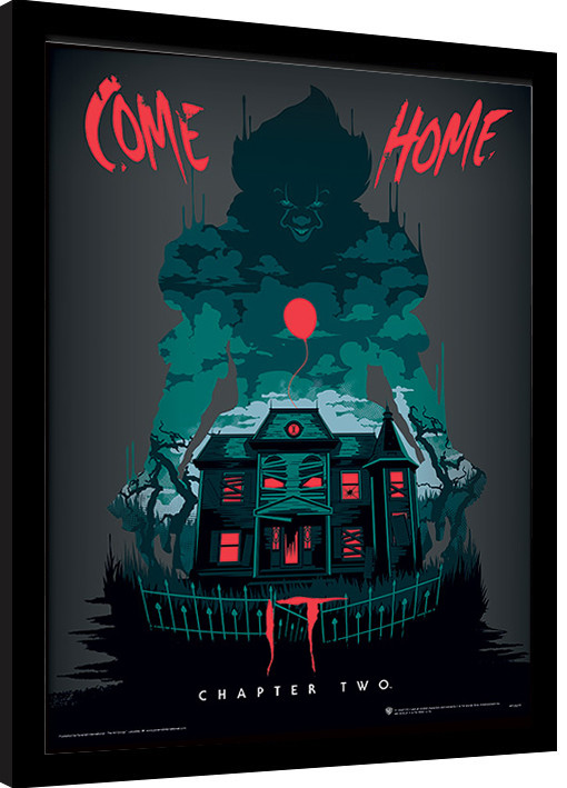 Framed poster IT: Chapter Two - Come Home