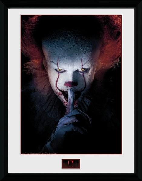 IT - Finger Framed poster