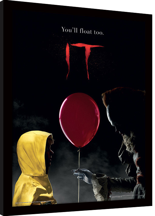 Framed poster IT - Pennywise & Georgie