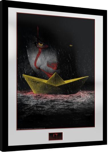 Framed poster IT - SS Georgie