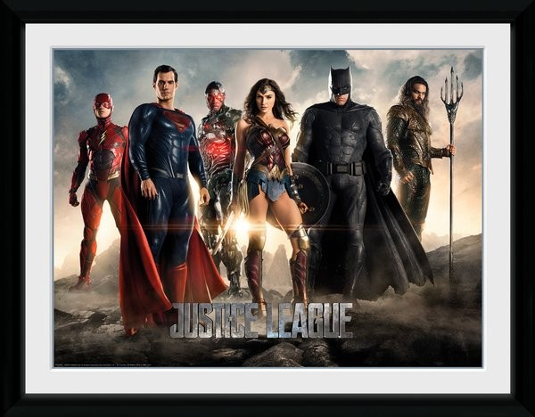 Justice League Movie - Characters Framed poster