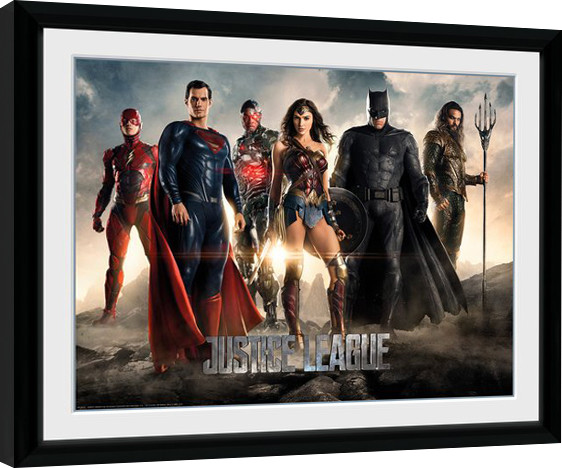 Justice League Movie - Characters Framed poster | Buy at Europosters