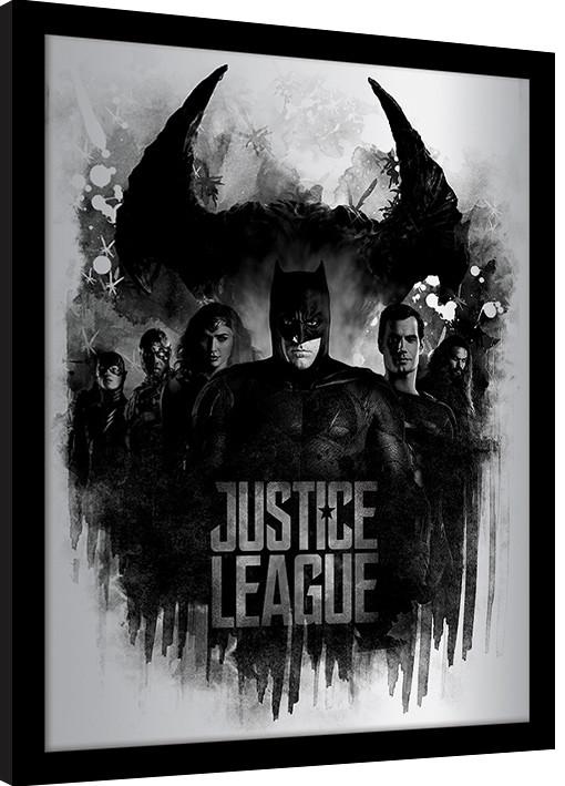 Justice League Movie - Dark Horizon Framed poster