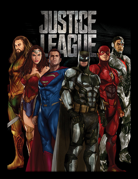 Justice League Movie - Stand Tall Framed poster | Buy at Abposters.com