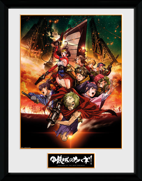 Framed poster Kabaneri of the Iron Fortress - Collage
