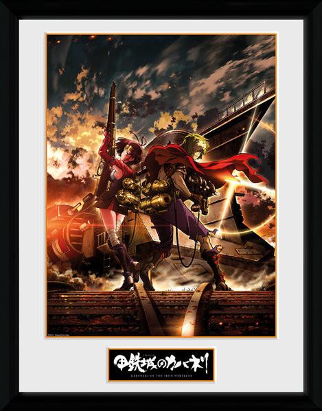 Framed poster Kabaneri of the Iron Fortress - Ikoma and Mum