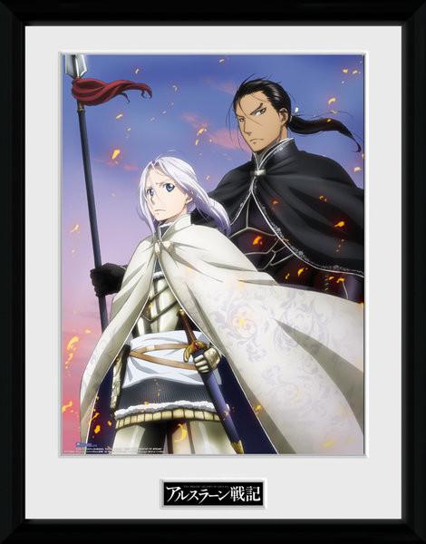 Legend of Arslan - Embers Framed poster