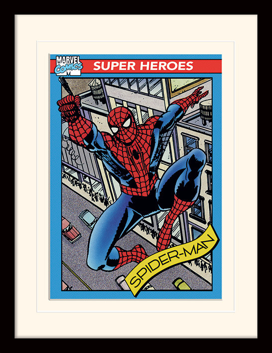 The Amazing Spiderman Marvel Poster Wall Art Print Card or Canvas