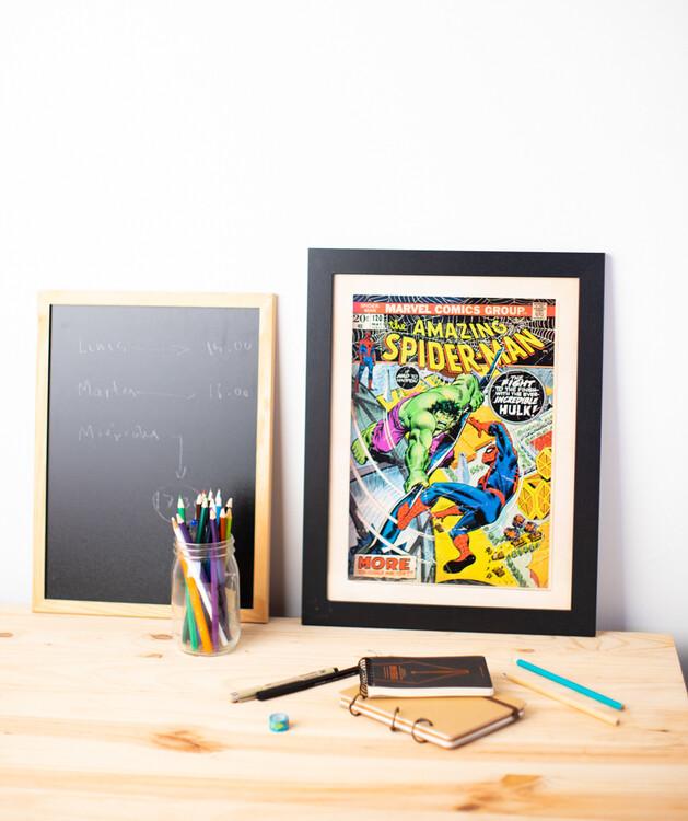 Framed poster Marvel Comics - Spiderman