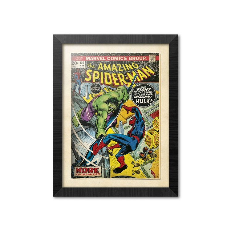 Marvel Comics - Spiderman Framed poster