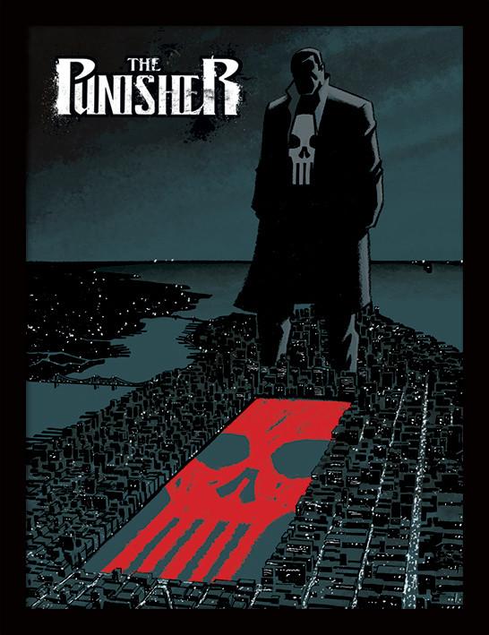 Framed poster Marvel Extreme - Punisher
