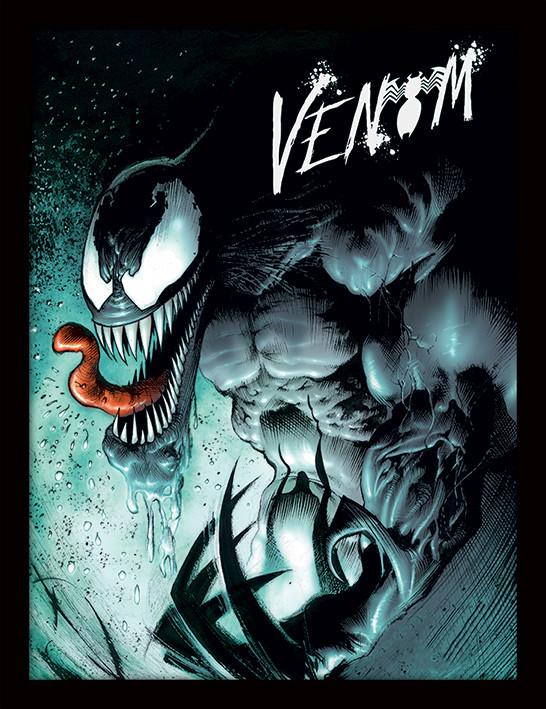 Framed poster Marvel Extreme - Venom