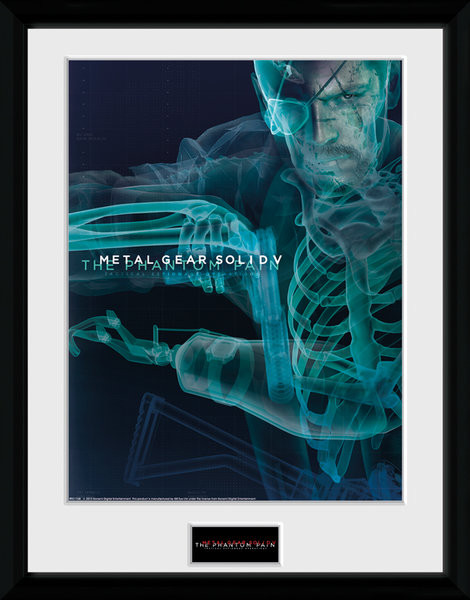 Metal Gear Solid V - X-Ray Framed poster