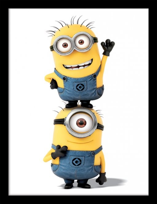 Minions (Despicable Me) - Minions Framed poster