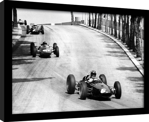 Monaco - 12 Framed poster | Buy at Abposters.com