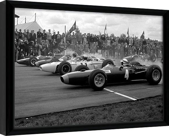 Monaco - 14 Framed poster