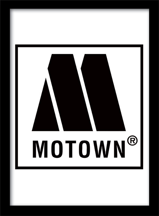 MOTOWN records - Logo Framed poster | Buy at Europosters