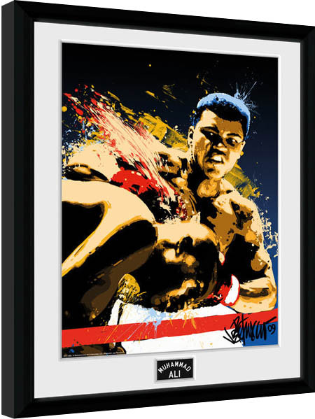 Muhammad Ali – Art 30x40cm Collector Print Framed poster