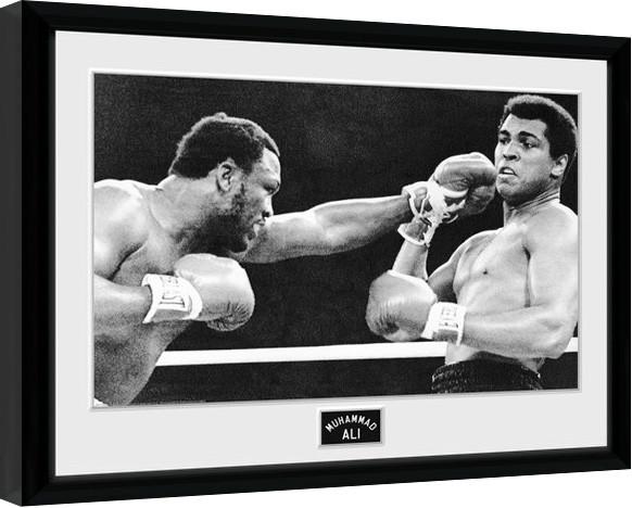 Muhammad Ali - Block Framed poster   Buy at Europosters