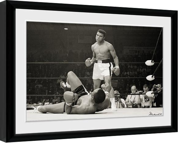 Mounted /& Framed Art Print Muhammad Ali and Beatles Inspired Art