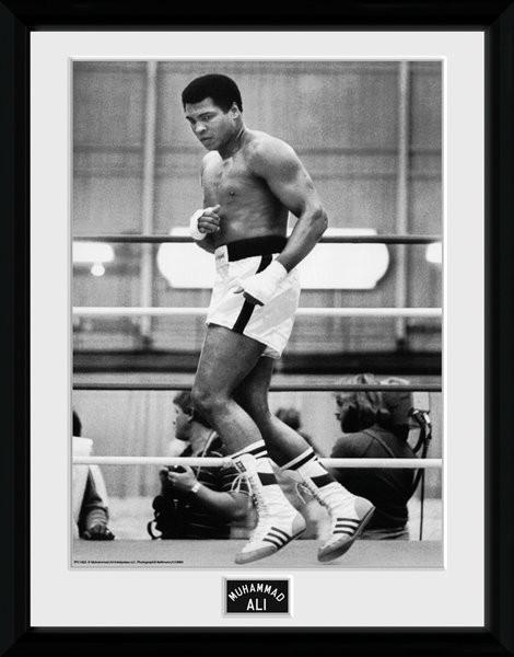 Muhammad Ali – Training 30x40cm Collector Print Framed poster   Buy ...