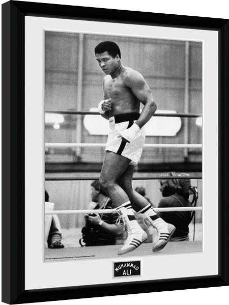 Quality Framed Poster Muhammad Ali Quote..