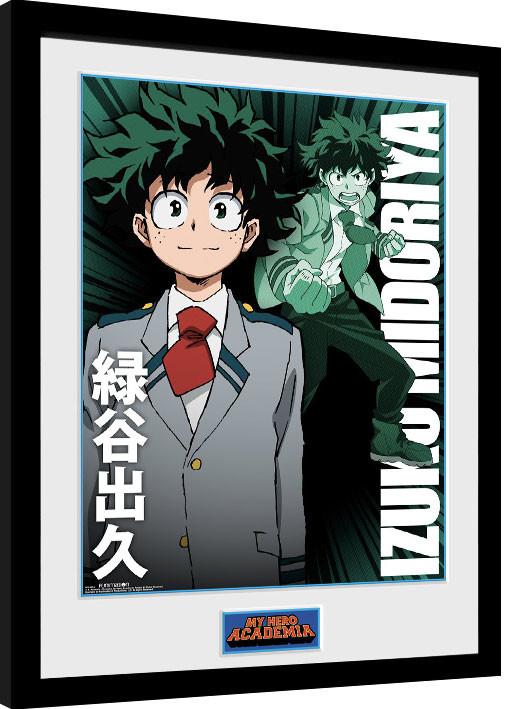 Framed poster My Hero Academia